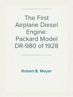 The First Airplane Diesel Engine