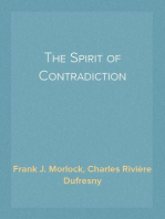 The Spirit of Contradiction