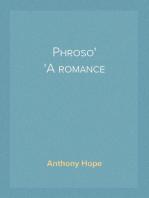 Phroso A romance
