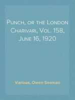 Punch, or the London Charivari, Vol. 158, June 16, 1920