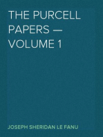 The Purcell Papers — Volume 1