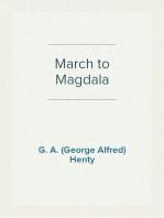 March to Magdala