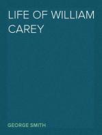 Life of William Carey