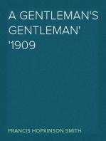 A Gentleman's Gentleman 1909