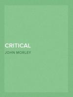 Critical Miscellanies (Vol. 3 of 3) Essay 10