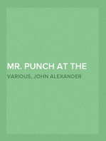 Mr. Punch at the Play Humours of Music and the Drama
