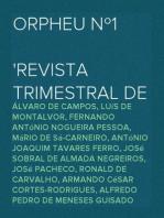 Orpheu Nº1 Revista Trimestral de Literatura