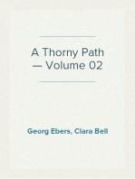 A Thorny Path — Volume 02
