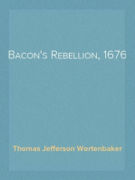 Bacon's Rebellion, 1676
