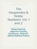 The Hesperides & Noble Numbers