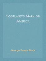 Scotland's Mark on America