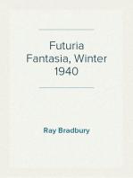 Futuria Fantasia, Winter 1940