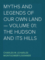 Myths and Legends of Our Own Land — Volume 01