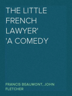 The Little French Lawyer A Comedy