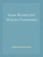 Numa Roumestan Moeurs Parisiennes