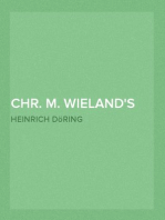 Chr. M. Wieland's Biographie