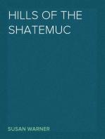 Hills of the Shatemuc