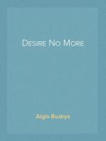Desire No More