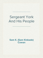 Sergeant York And His People