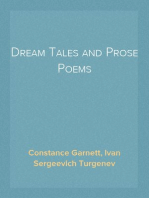 Dream Tales and Prose Poems