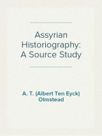 Assyrian Historiography