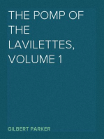 The Pomp of the Lavilettes, Volume 1