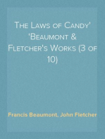 The Laws of Candy Beaumont & Fletcher's Works (3 of 10)