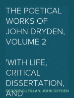The Poetical Works of John Dryden, Volume 2