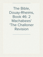 The Bible, Douay-Rheims, Book 46