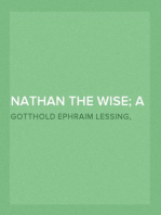 Nathan the Wise; a dramatic poem in five acts