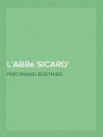 L'abbé Sicard célèbre instituteur des sourds-muets, successeur immédiate de l'abbé de l'Épée.