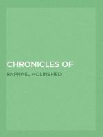 Chronicles of England, Scotland and Ireland (2 of 6)