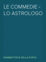 Le commedie - lo astrologo