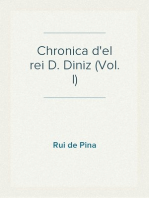 Chronica d'el rei D. Diniz (Vol. I)