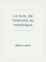 Le livre, de l'imprimé au numérique