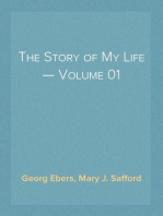 The Story of My Life — Volume 01