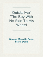 Quicksilver The Boy With No Skid To His Wheel