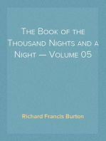 The Book of the Thousand Nights and a Night — Volume 05