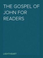 The Gospel of John for Readers