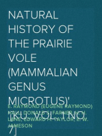 Natural History of the Prairie Vole (Mammalian Genus Microtus) [KU. Vol. 1 No. 7]