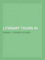 Literary Tours in The Highlands and Islands of Scotland