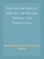 Tratado metódico y práctico de Materia Médica y de Terapéutica, tomo segundo