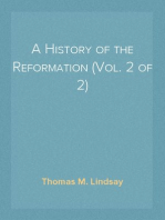 A History of the Reformation (Vol. 2 of 2)