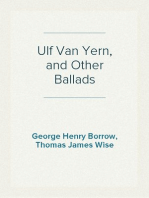 Ulf Van Yern, and Other Ballads