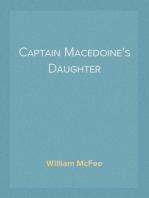 Captain Macedoine's Daughter