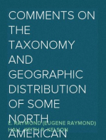 Comments on the Taxonomy and Geographic Distribution of Some North American Marsupials, Insectivores and Carnivores