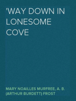 'way Down In Lonesome Cove