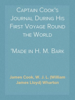 """Captain Cook's Journal During His First Voyage Round the World Made in H. M. Bark """"Endeavour"""", 1768-71"""