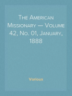 The American Missionary — Volume 42, No. 01, January, 1888
