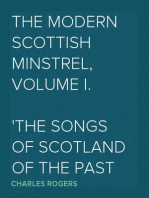 The Modern Scottish Minstrel, Volume I.